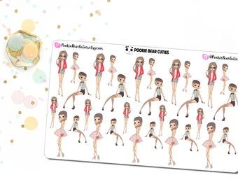 Cutesy Girl Stickers -0151