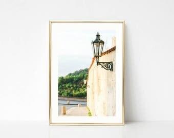 Beige Art Decor, Travel Photography, Art Prints, Europe Wall Art, Prague Castle