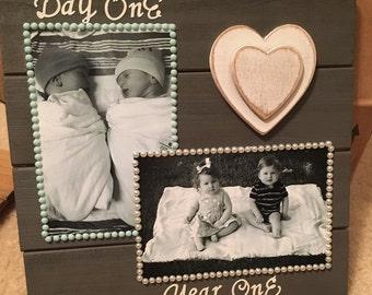 1st Birthday - Customized Wood Plaque