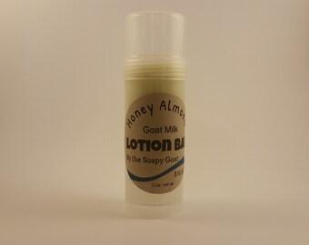 Goat Milk Lotion Bar~Honey Almond Scent