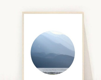 Abstract Art Print, Mountain Photography, Mountain Print, Printable Art, Downloadable Photo, Abstract Print, Minimalist Prints