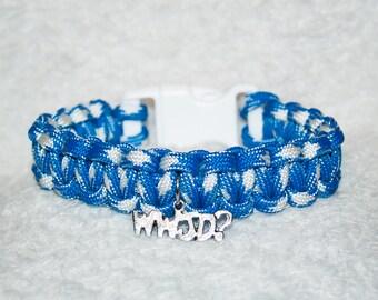 WWJD Bracelet, What Would Jesus Do, Christian Gift, Christian, Faith, Inspirational Quotes, Rainbow Bracelet, WWJD Gifts, WWJD?, Religion