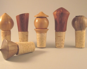 Wooden tops and Cork