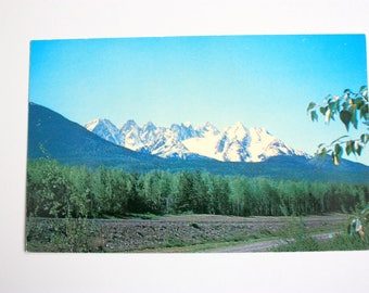 Seven Sisters Range, Cedarvale British Columbia Postcard / Skeena Valley Postcard / Canadian Rockies / mountains postccard Canada postcard