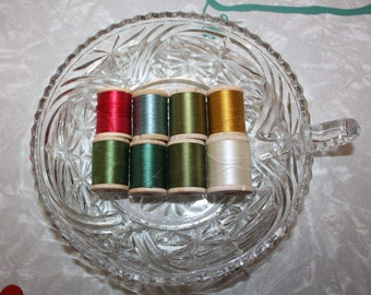 Vintage Belding Corticelli Pure Silk Thread on Wooden Spool -- Sold Individually, Gorgeous Colors