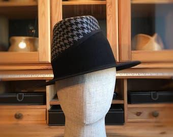 Black fedora, Mens hat, Wide brim fedora, mens fedora, cool hats