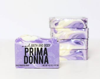 Soap Prima Donna | Spring Soap | Cold Process Soap | Bar Soap | Bath and beauty | Handmade Soap