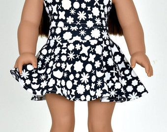 Skater Skirt 18 inch doll clothes Doll