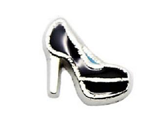 Black Heels Floating Charm
