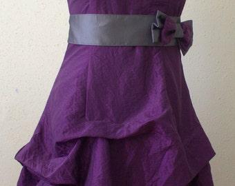 Dress in purple