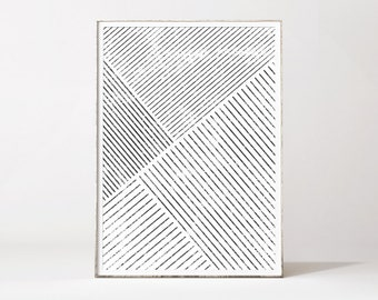 Minimalist wall art, affiche scandinave, geometric art, minimalist print, scandinavian art,modern abstract art, geometric print, black white