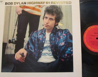 "Bob Dylan ""Highway 61 Revisited"" LP Vintage Vinyl Record - Excellent Condition - Free Shipping!"
