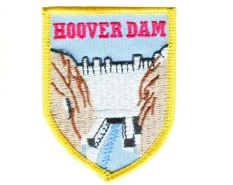 Hoover Dam Patch (Iron on)