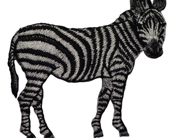 Zebra Applique Patch (Iron on)