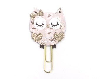 Sweetheart Owl Paper Clip