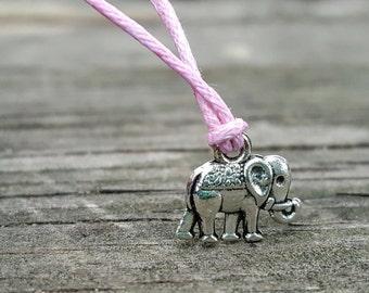 Elephant Bracelet, Elephant Baby Shower Favor, Elephant Jewelry, Elephant Party Favor, Elephant Wish Bracelet, Elephant Wedding Shower Favor