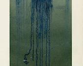 Man O' War Jellyfish Art Print - Marine Illustration Poster - Antique Style Wall Art - Museum Quality