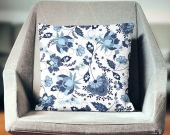 Flower Pillow Case | Flower Throw Pillow | Flower Pillow Cover | Flower Cushion | Flower Decoration | Flower Décor | Flower Pillow