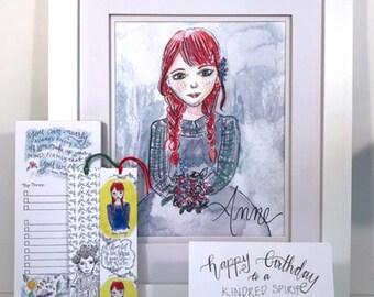 Anne of Green Gables Gift Set - literary - gift