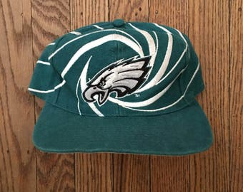 Vintage Philadelphia Eagles NFL Snapback Hat Baseball Cap