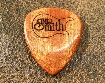 pick, wood pick, handmade pick