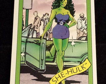 She-Hulk #39 - 1990 Marvel Universe Series 1 Base Trading Card