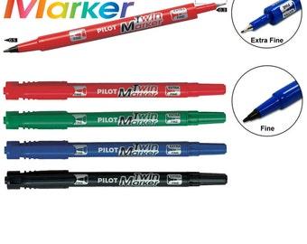 Pilot Permanent Ink Twin Marker