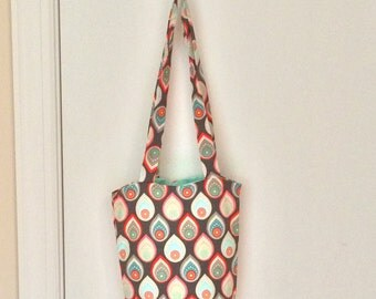 Colorful Teardrop Bag