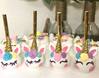 unicorn cake pops etsy your place to buy and sell all things handmade 8164