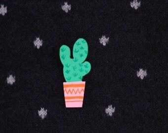 Cactus ear pin