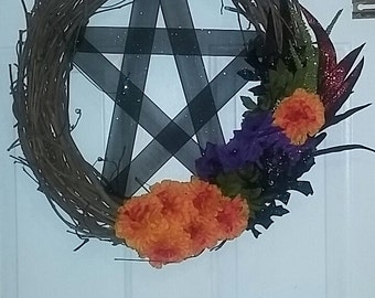 Large Pentacle Wreath