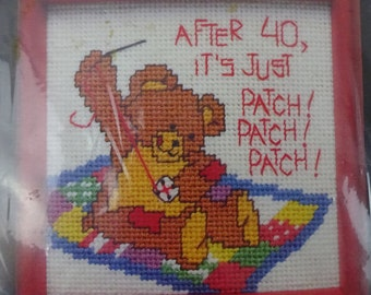 After 40... by Linda K. Powell #7099 Dimensions Needlepoint 1986