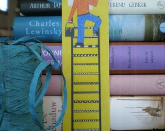 Bookmark Ladder - Bookmark Recycled Paper.