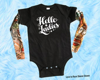 Trendy Baby Boy Clothes, Tattoo Sleeve Baby Shirt, Newborn Coming Home Outfits for Boys, Baby Shirts with Tattoo Sleeves,
