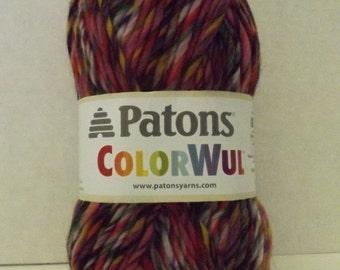 Patons ColorWul Yarn ~ 100% Wool ~ Colour Primrose ~ #5 Bulky ~ 85 grams ~ 90 Yards