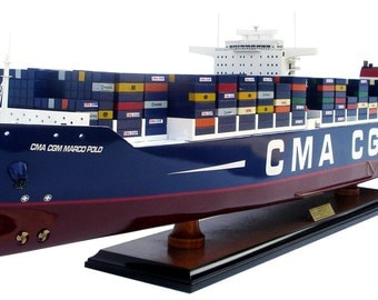 CMA CGM Marco Polo Container Display Ship Model