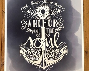 Poster Print- Anchor