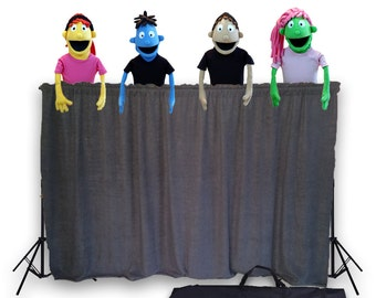 Classroom Puppet Stage - Portable Tripod Puppet Theater w/BAG