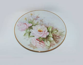 Hand Painted Plate Ivy Leask - 1252