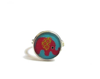 ELEPHANT RING - Kids ring - Kids Jewelry - Summer ring - animal ring - Cool Gifts for Kids - Pop ring - Gift for Girl - savane ring