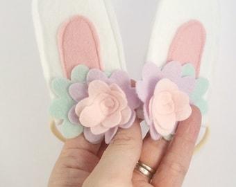 Baby bunny rabbit headband