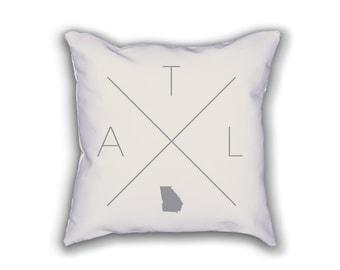 atlanta pillow | etsy