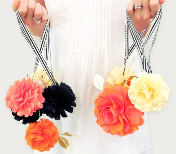 Diy Decor Balls: Flower Balls Wedding Decor Paper Flower Templates DIY