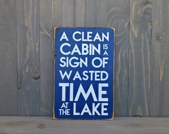 Lake house rules - lake life - cabin decor - cabin rules - lake house decor - lake house wall art - housewarming gifts - fathers day gift