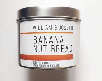 SALE: Banana Nut Bread | Banana Candle, Gifts for her,  scented candles, housewarming gift