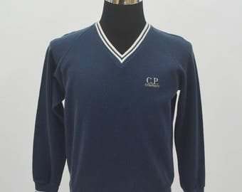 Rare CP Company Made in Japan thin sweatshirt pullover size S small