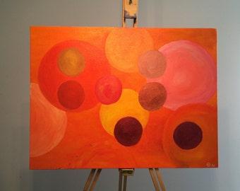 Painting - Orange Boost