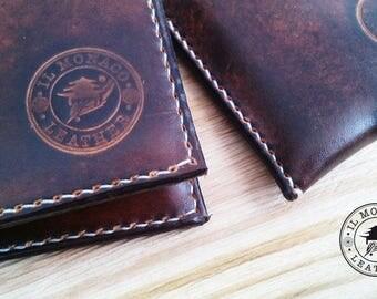 Men's business card holder wallet man gift set, set, gift for him