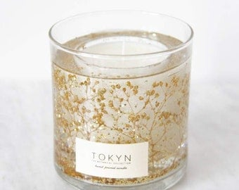 The Botanical Collection ~ All that Sparkles - Scented Candle - Gold - Choose your scent - Gift