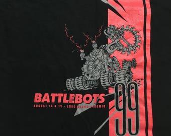90s Battle Bots Tshirt - Battle Bots Shirt - 90s BATTLEBOTS shirt - 1999 - Robot Tshirt - 90s Television